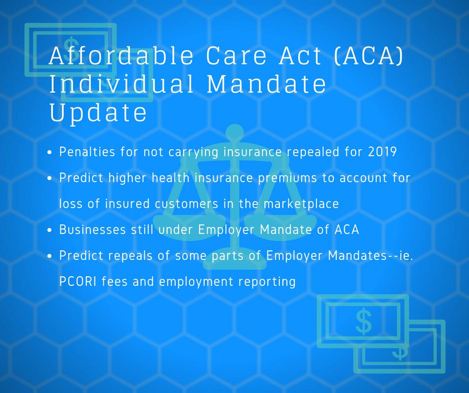 ACA Individual Mandate Update | New York Employee Benefits